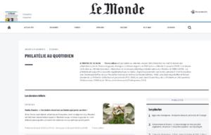 Article de Pierre Julien dans Le Monde du 23 août 2020