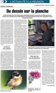 Portrait dans Le Quotidien du 11 03 18