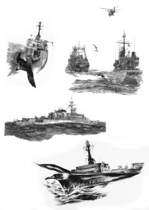 Bateaux militaires