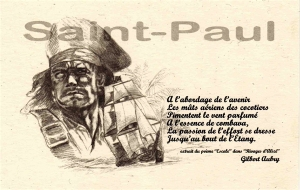 "Carte de voeux ""Pirate"""