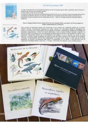"""Coffret Museum """"Biodiversité"""" Prix Livre Insulaire 2009"""