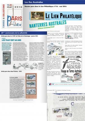 Expo timbres Paris Philex 2016 Porte de Versailles et Nanterre