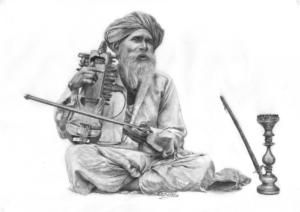 Musicien indien