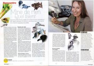 Presse magazine portrait