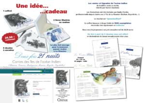 Vente du coffret Contes de l'océan indien aux Editions Orphie