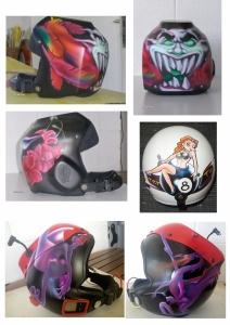 Divers casques
