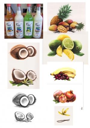 Etiquettes Fruits