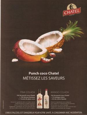 Campagne de pub Punch Chatel